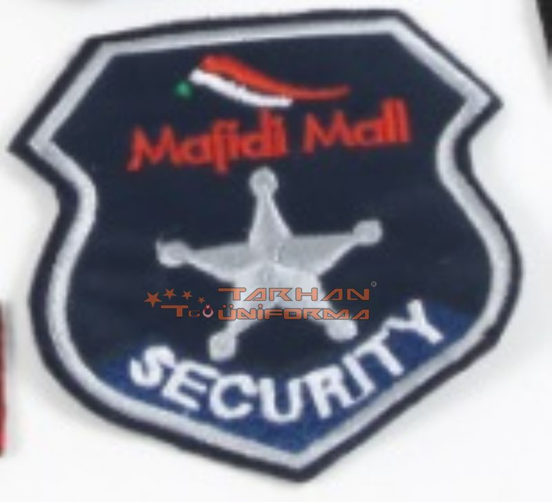 majidi mall security nakış arma